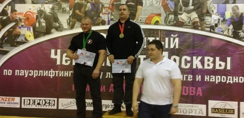 Сотрудники личной охраны стали первыми на соревнованиях по народному жиму