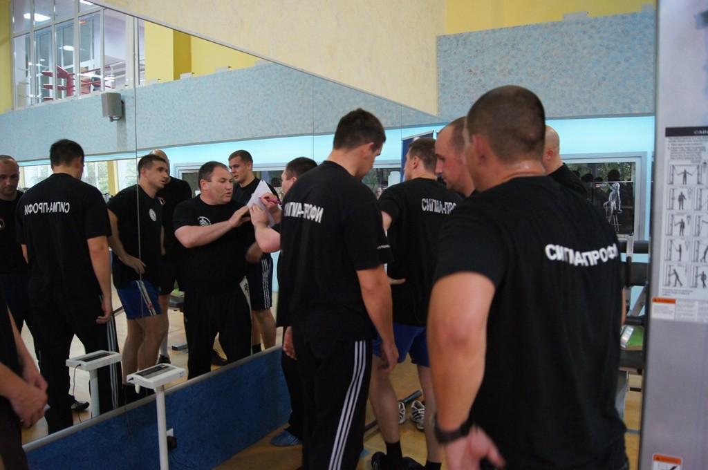 В ЧОПе прошли соревнования по подтягиванию