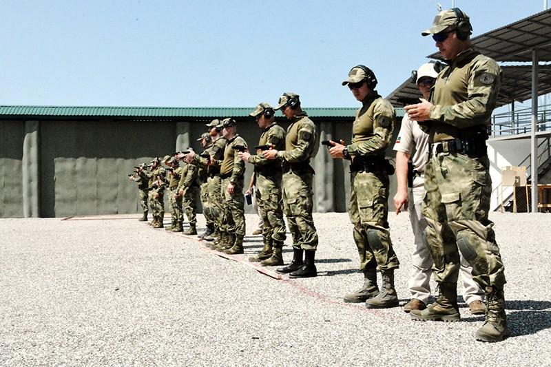 Сотрудники личной охраны вернулись со сборов по тактической подготовке