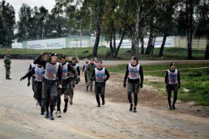 Сотрудники личной охраны заняли первое место на Гонке Героев
