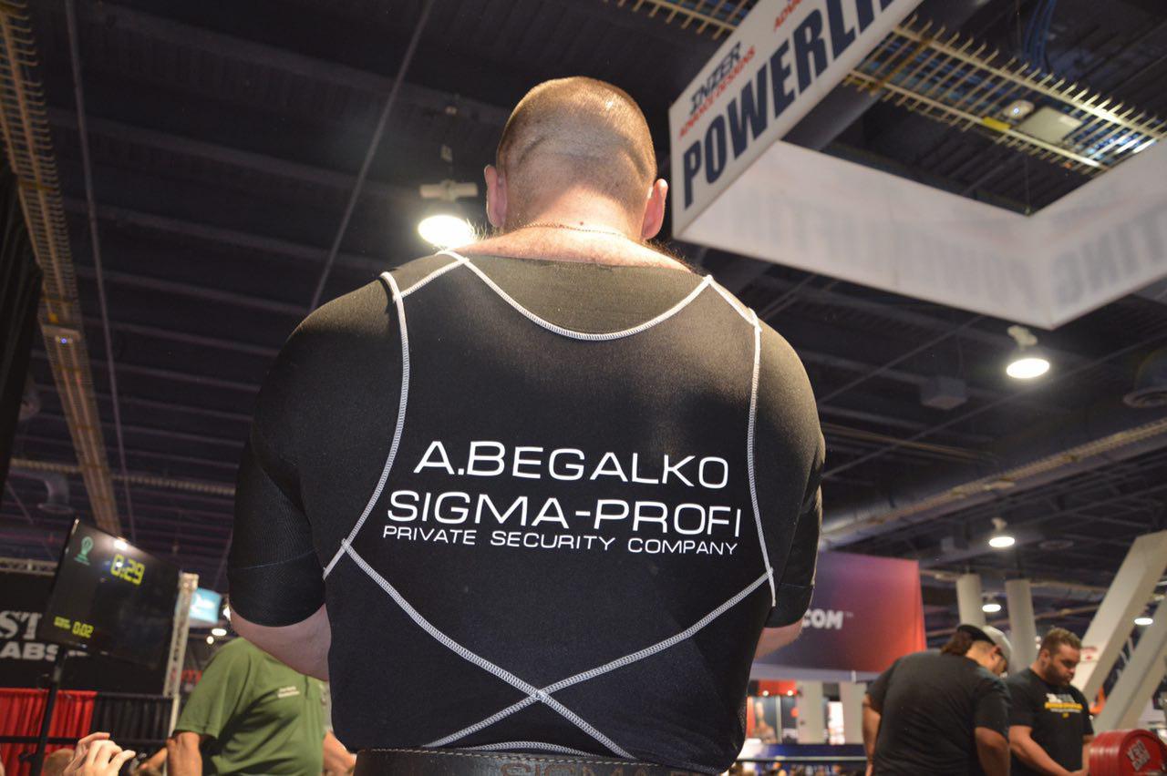 """Сотрудник ГК """"Сигма-Профи"""" одержал победу на соревнованиях по пауэрлифтингу в Лас-Вегасе"""