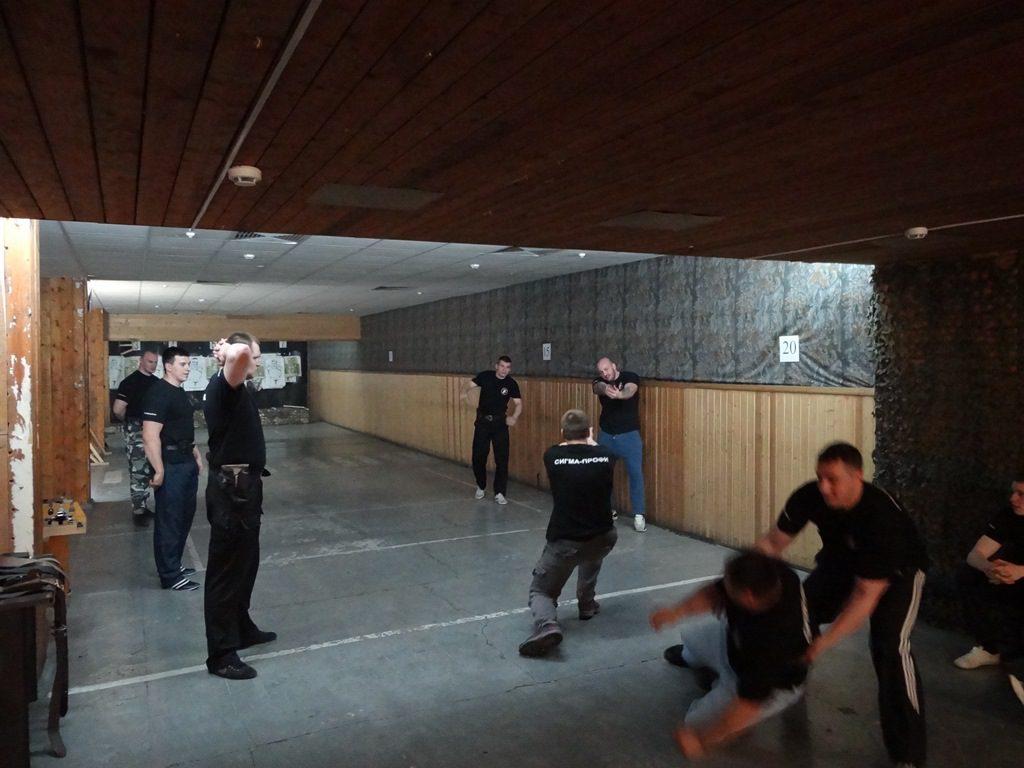 Прошел курс подготовки сотрудников личной охраны к соревнованиям