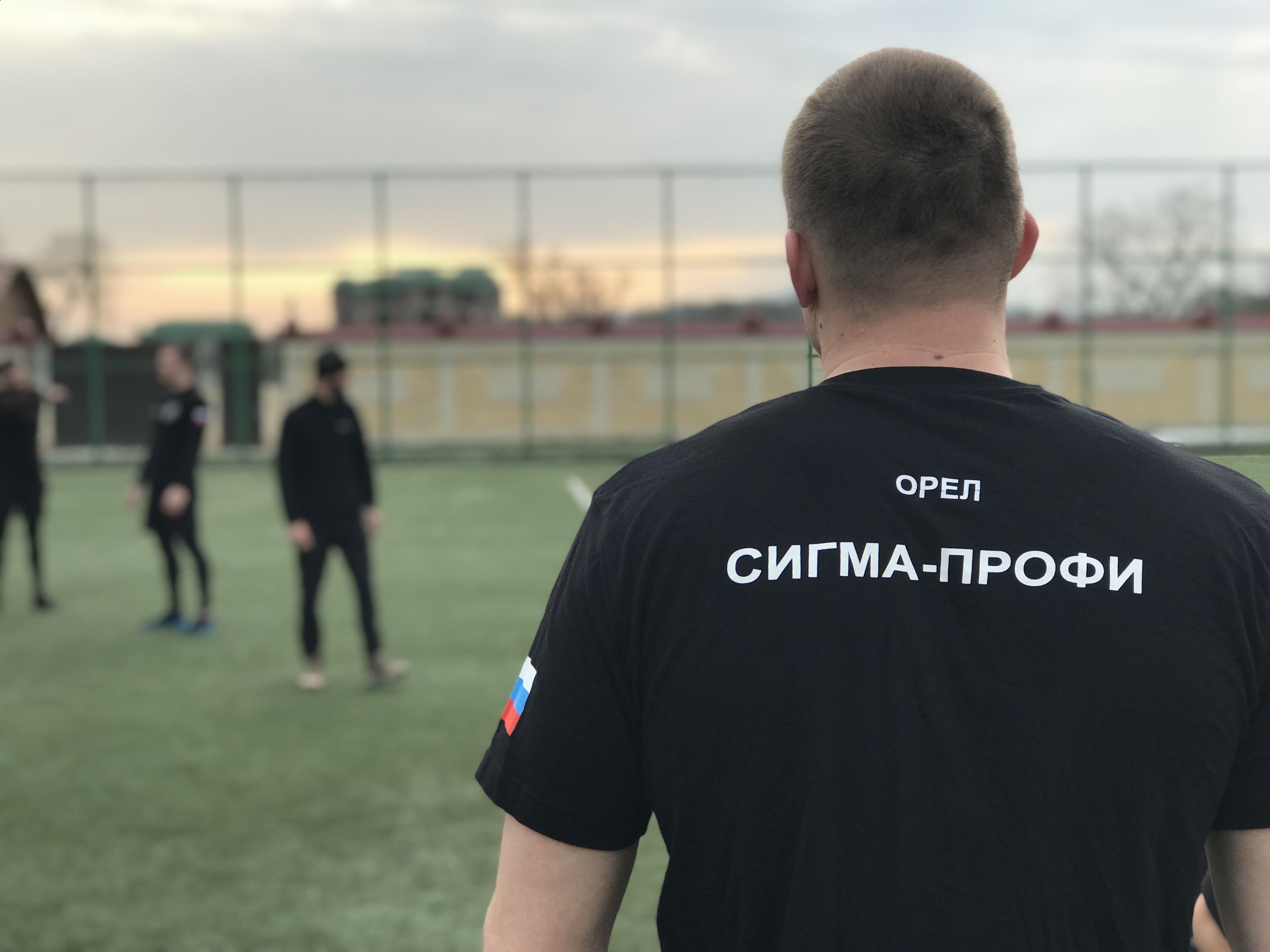 Сборы в Российском Университете Спецназа