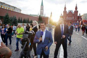 Охрана иностранной телевизионной съемочной группы в период чемпионата мира по футболу
