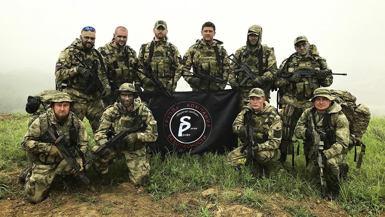 Сотрудники ГК «Сигма-Профи» в Российском университете спецназа в Гудермесе