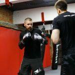 Тренировка рукопашного боя сотрудников личной охраны ГК «Сигма-Профи»