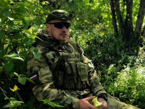 Сотрудник вооруженной личной охраны на ежегодных учениях в Международном учебном центре сил специального назначения «Российский Университет Спецназа»