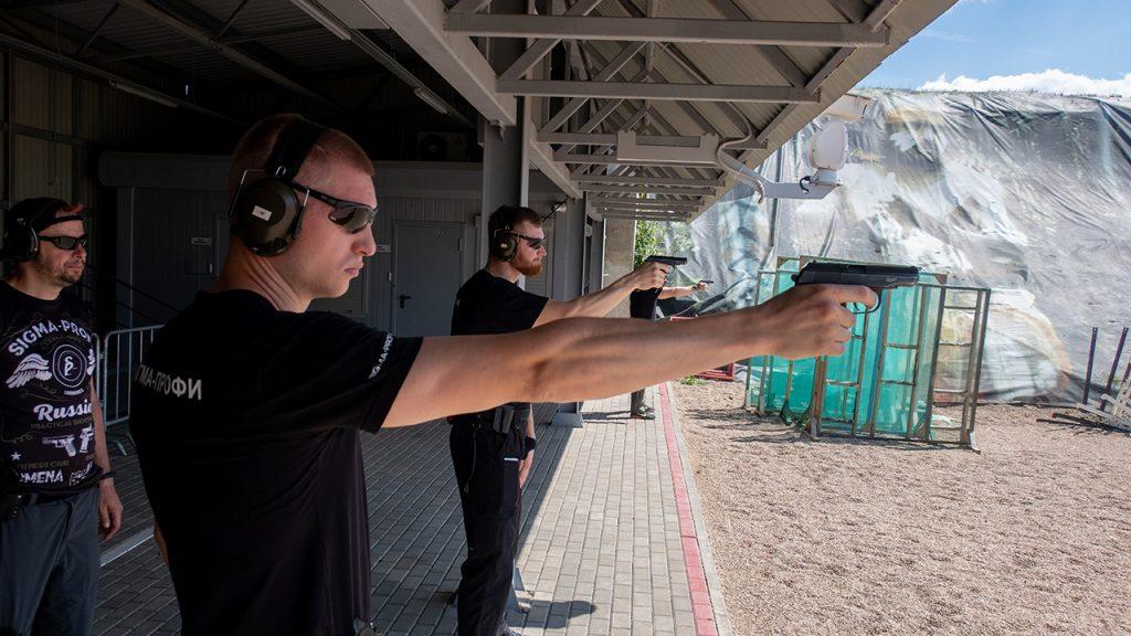 Учебные стрельбы на базе ФГАУ «Патриот»